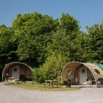 glamping cabins at old oaks