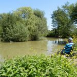 fishing holidays in somerset at Old Oaks