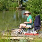 fishing at old oaks