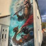Glastonbury Mural